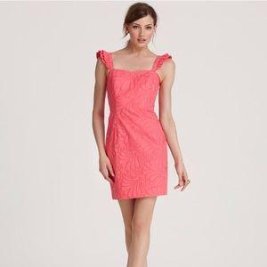 SALE💓EUC Lilly Pulitzer Sarafina poppy dress, 6